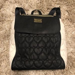 Betsy Johnson Quilted Backpack